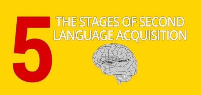 stages second language acquisition