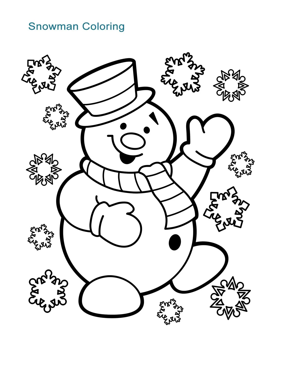 10 Christmas Coloring Worksheets For All Ages
