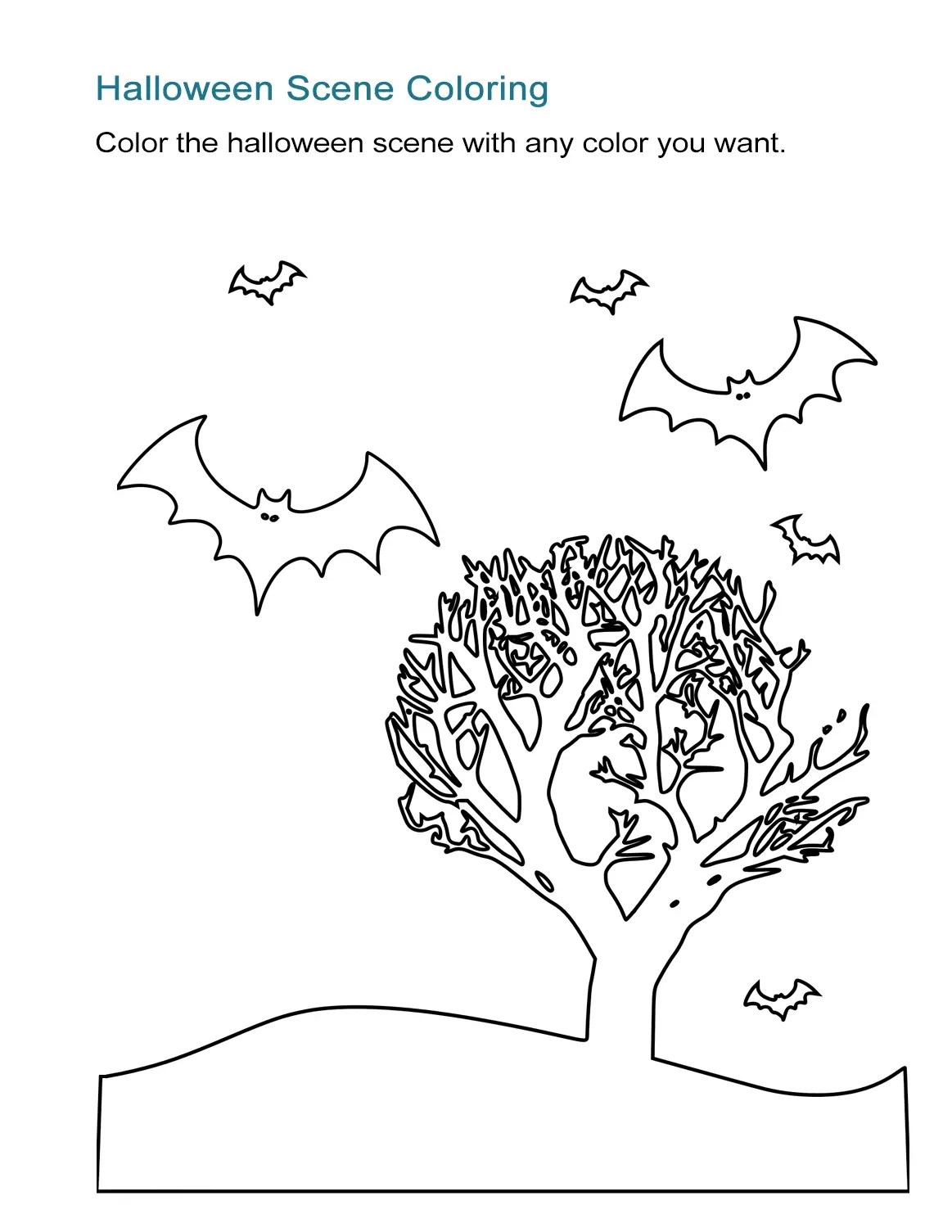 10 Halloween Coloring Sheets Free And Print Ready