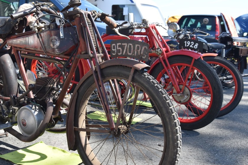 motorfiets remmen