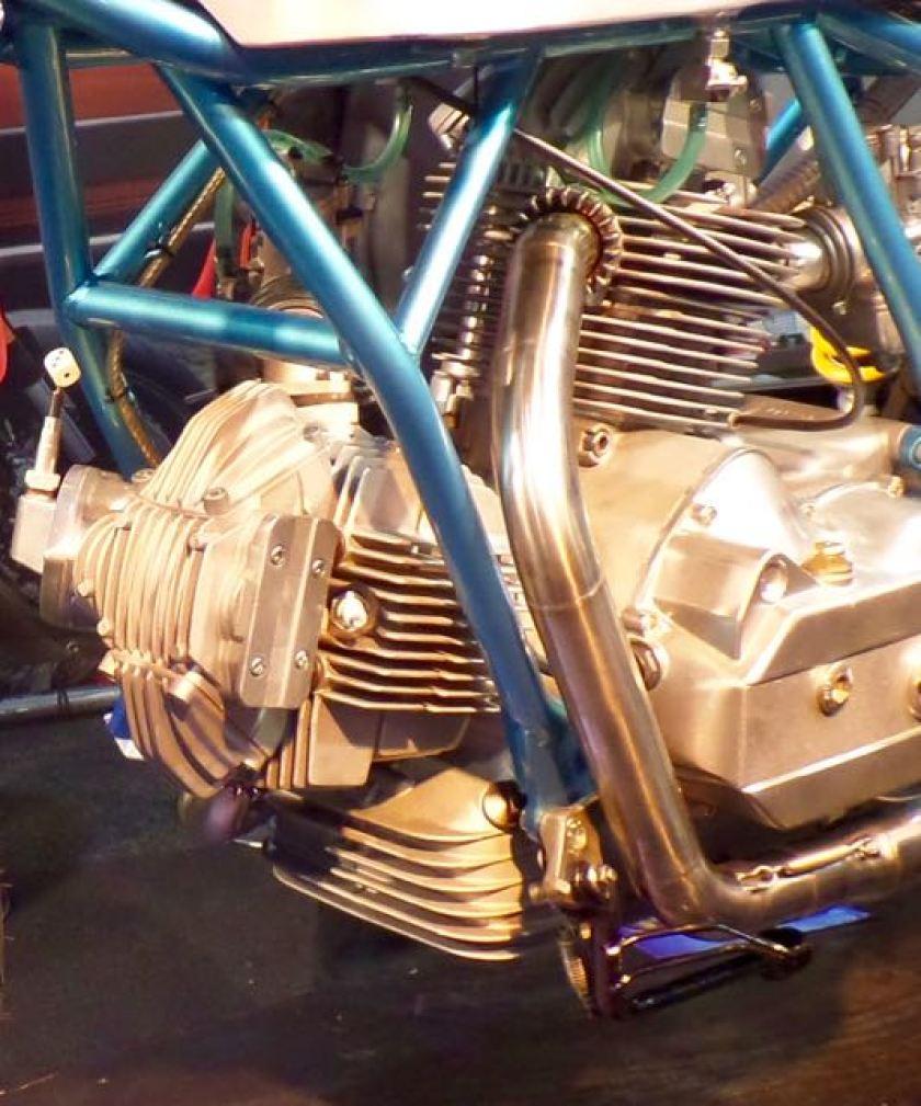 Luchtgekoelde motor