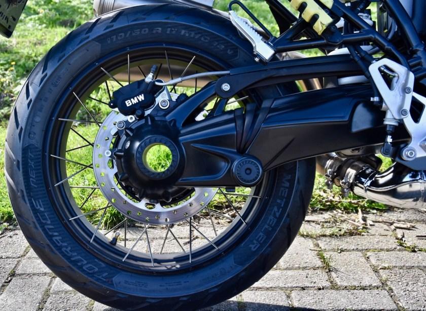 motorfietsen met cardanaandrijving