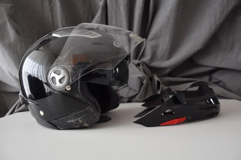 veilig motorhelm