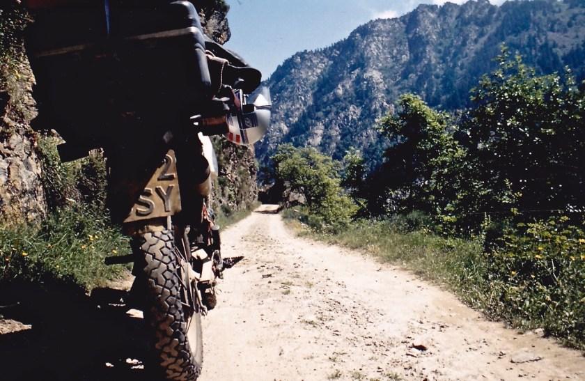 Allroad motorfiets