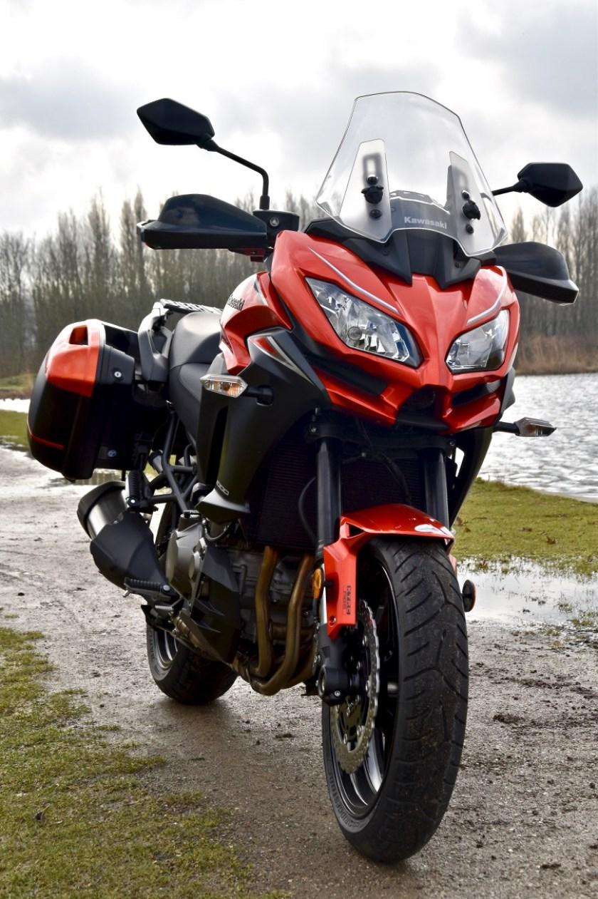 sportieve toer motorfiets
