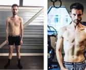 Dj Domien Verschuuren traint zich in twaalf weken superstrak en valt zes kilo af