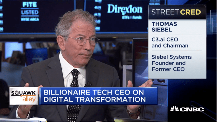 Tom Siebel - CNBC