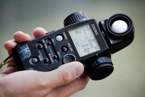 Sekonic Lichtmeter gebruiken licht meten fotografie cursus opvallend reflecterend licht