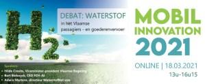 MOBILINNOVATION 2021: Waterstof in het Vlaamse passagiers- en goederenvervoer @ Webinar