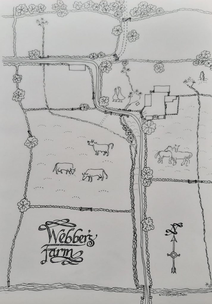 Map of Webber's Farm