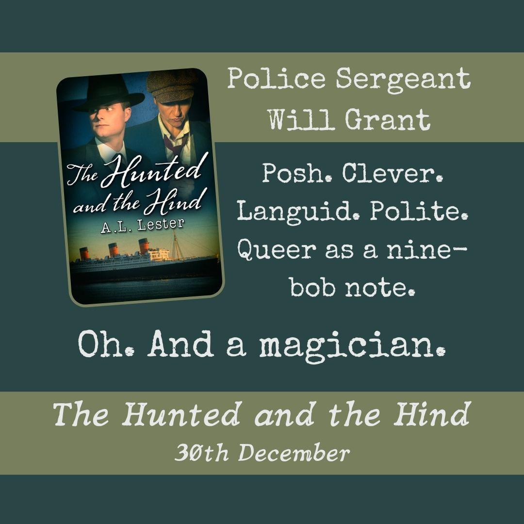 Detective Sergean Will Grant. A magician.