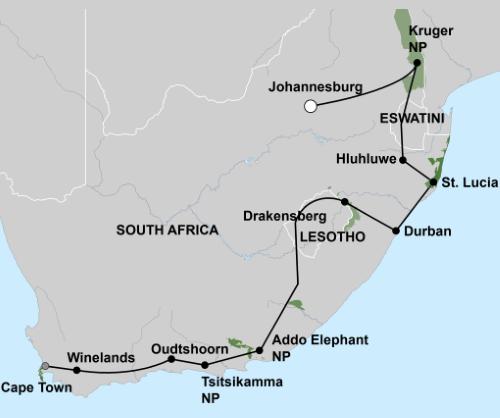 Het Beste van Zuid-Afrika (22 dagen)
