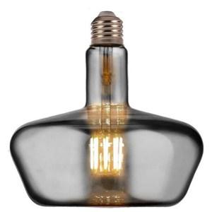 LED Lamp - Design - Gonza XL - E27 Fitting - Titanium - 8W - Warm Wit 2400K