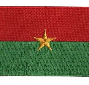 vlag patch Burkina Faso
