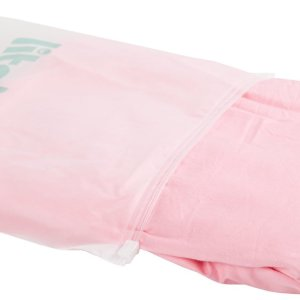 Litollo® Zwangerschapskussen hoes XXL 280cm - Ventilerend katoen - Roze