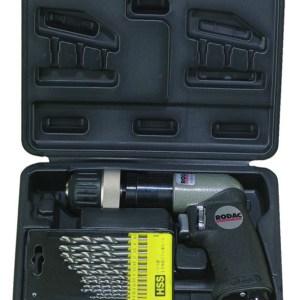 """Rodac RC206ABC Pneumatische boormachine in koffer - 1800 tr/min - 10mm - 1/4"""""""