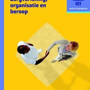 Traject V&V Zorgverlening, organisatie en beroep - niveau 4