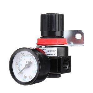 LAIZE AR2000 Luchtdrukregelaar Pneumatische drukregelklep G1/4 Poort voor persluchtsysteem