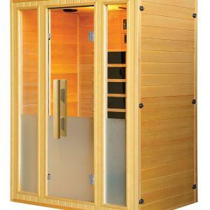 Badstuber Calipso infrarood sauna 140x105cm 3 persoons