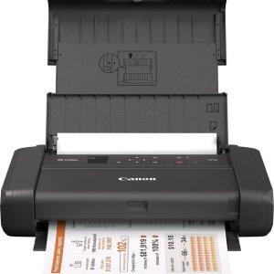 Canon PIXMA TR150 - Draadloze Portable Printer - Met Accu - Zwart