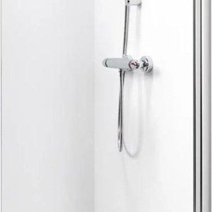 Get Wet by Sealskin Inloop douchewand W105 A3 90 cm chroom