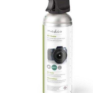 Nedis spuitbus met perslucht voor camera's en apparatuur / 405 ml