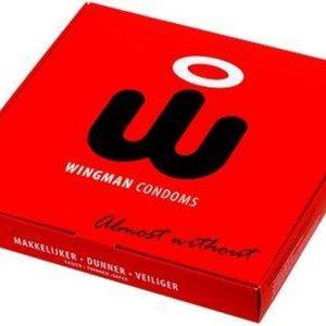 Wingman Condooms 12 Stuks - Transparant - Drogist - Condooms - Drogisterij - Condooms