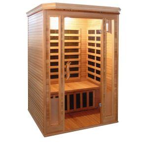 Badstuber Komfort infrarood sauna 120x120cm 2 persoons