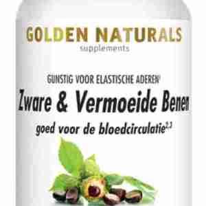 Golden Naturals Vegetarische Capsules Supplementen Zware&Vermoeide Benen