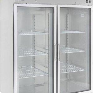 Professionele Horeca koelkast | RVS | 2 Glasdeuren | Combisteel | 7450.0154 | Horeca