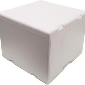Thermobox 21 Liter - Isolatie Doos - Droogijs Box - Tempex doos - EPS - Koelbox