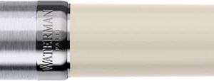 Waterman vulpen Embleme Ivory Chrome Trim met fijne punt