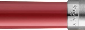 Waterman vulpen Embleme Red Chrome Trim met medium punt
