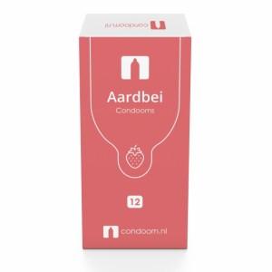 Condoom.nl Aardbei Condooms