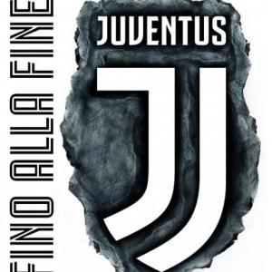 Juventus muursticker maxi logo