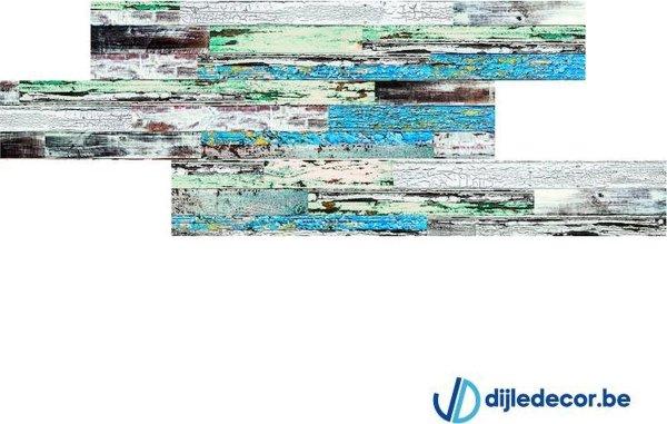 Houtlook wandpaneel   2,5m2   100cm x 16cm   DDWD13