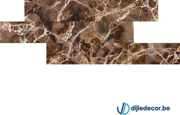 Marmerlook wandpaneel | 2,5m2 | 100cm x 16cm | DDMB07