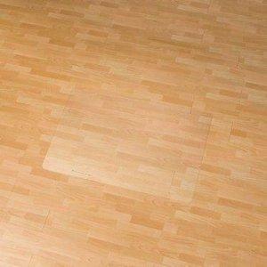 Stoelmat Vloermat voor harde vloeren Rechthoek 90x120 cm.