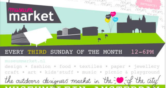 Museum Market, elke 3e zondag van de maand