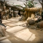 mappa mundia dierentuin