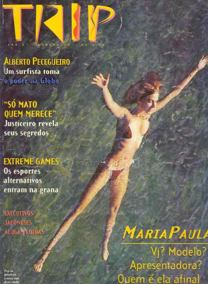 """Biquini Allethea Mattos en portada de la Revista """"Trip"""""""