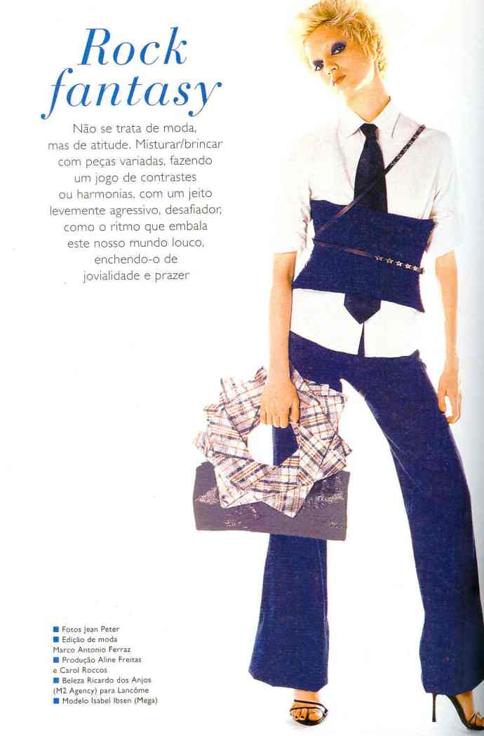 Editorial Corset de Crochet
