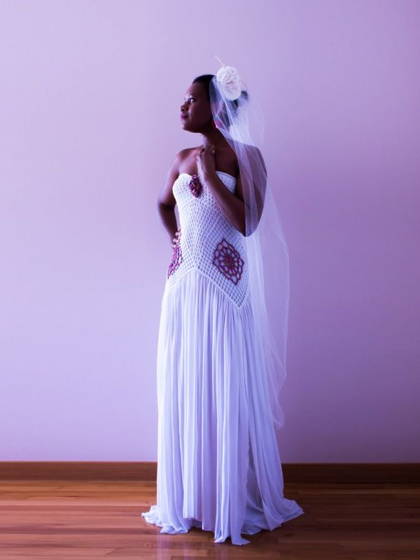 Vestido kelli palabra de honor tul600.110