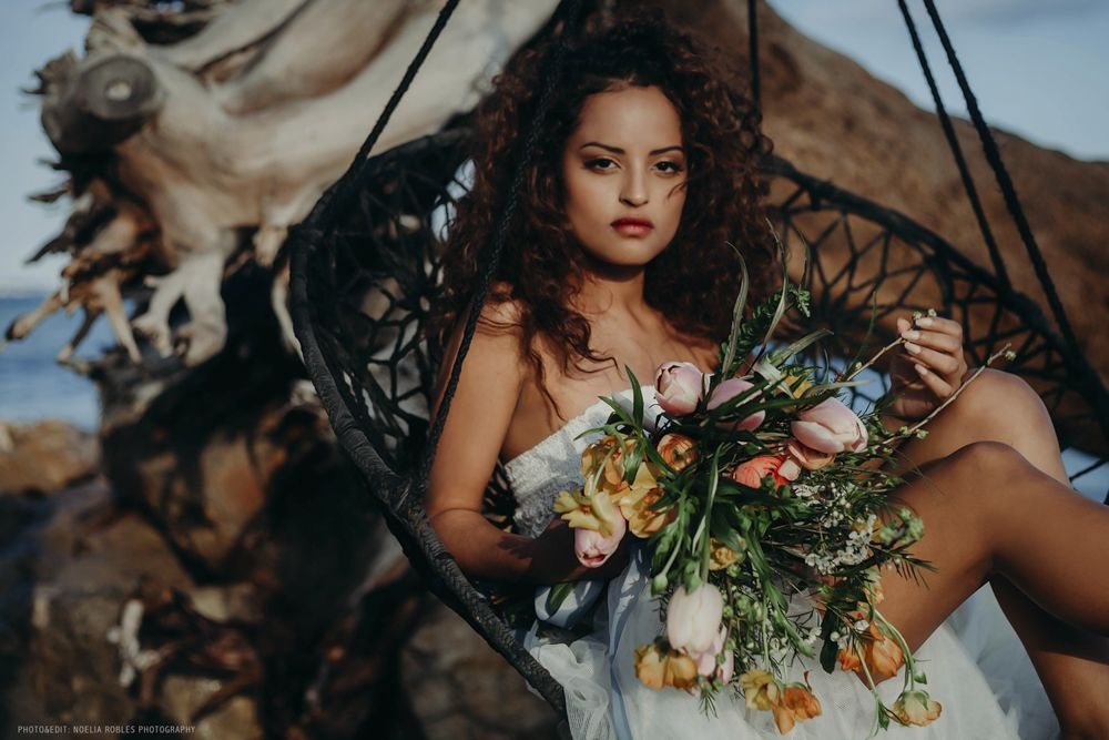 "Editorial ""Destino Salvaje"". Bridal collection."