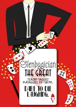 Magician Poster in Illustrator