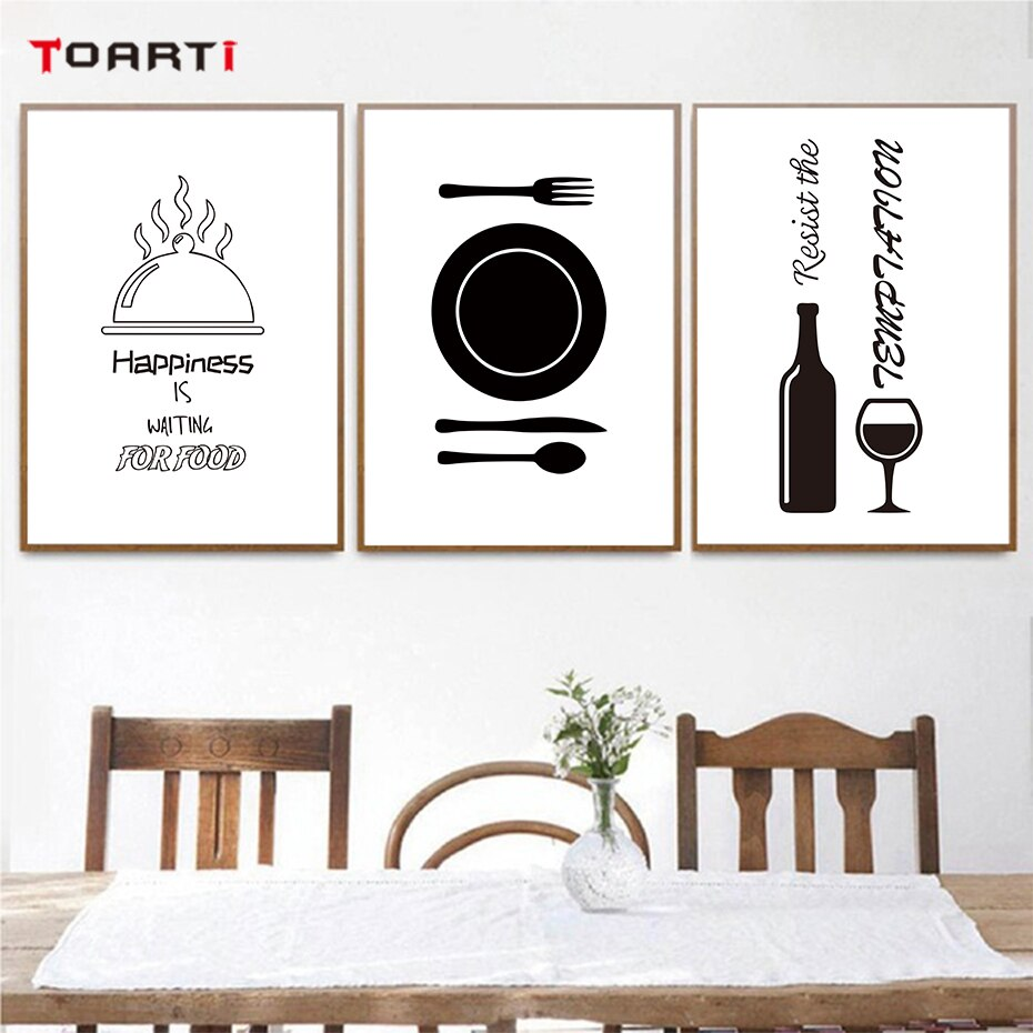 Kitchen Dining Room Home Decor Wall Art, Dining Room Posters And Prints