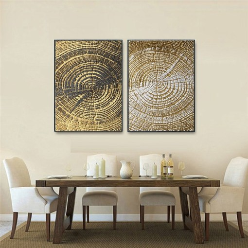 Alley Corner Nordic Wall Decor, Vintage Wall Art For Dining Room
