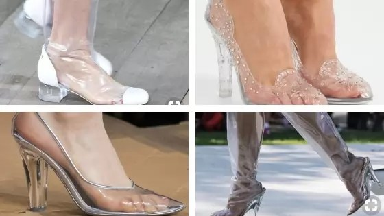 Who did Design the Very First Clear Transparent Shoes?