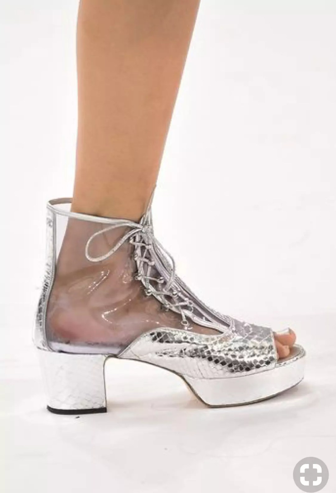 chanel 2016 spring clear shoes alley girl trend review - Who did Design the Very First Clear Transparent Shoes?