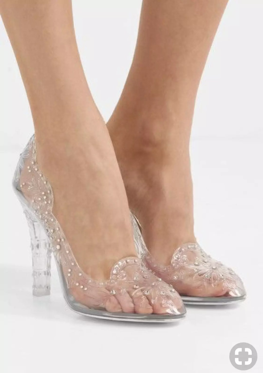 dolce and gabbana cinderella clear shoes alley girl trend review - Who did Design the Very First Clear Transparent Shoes?